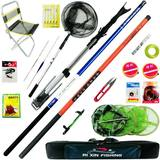 Fishing gear set combination full set of sea rod carbon fishing rod hand rod stream rod fishing full set of fishing equipment fishing tackle