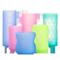 玻璃奶瓶保护套防摔防烫宽标口硅胶套适用贝亲NUK布朗博士bobo