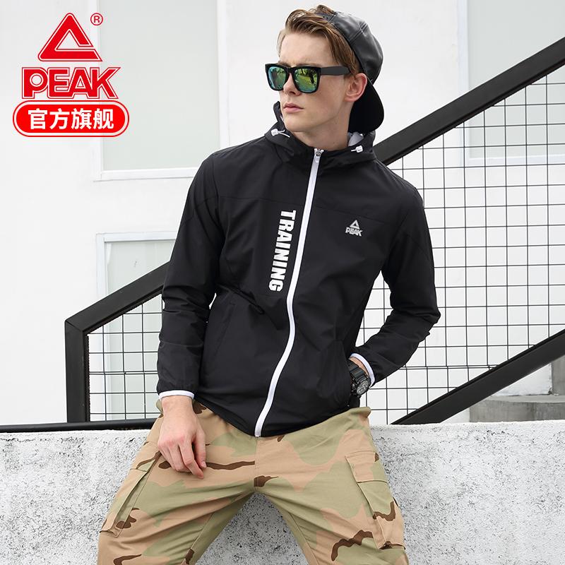 匹克男风衣  秋冬季 梭织轻薄防风休闲训练跑步运动服上衣外套男