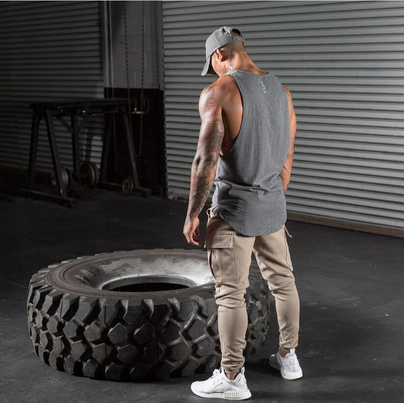 MG兄弟背心夏季新款肌肉男运动弹力速干健身背心透气休闲