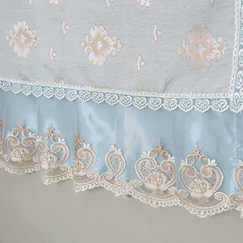 欧式冰箱盖布防尘罩单开门对双开门冰箱罩盖布巾洗衣机罩套帘布艺