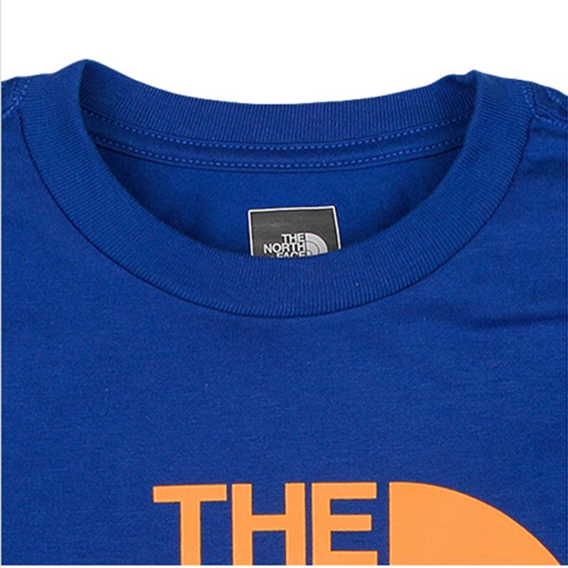 【经典款】TheNorthFace北面男童女童短袖t恤中童纯棉大童A8B5
