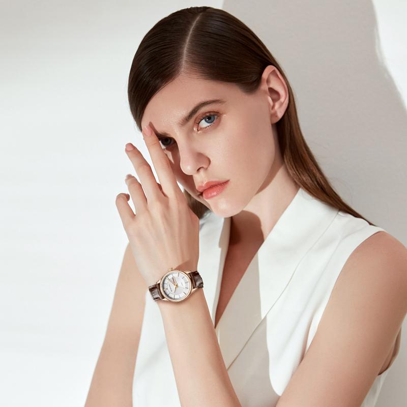 年新款正品石英表简约防水时尚优雅女士手表 罗西尼手表女 19 818574