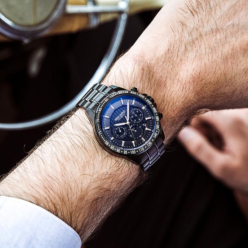 正品男士手表机械表全自动精钢特种兵战术大表盘男表运动防水军表