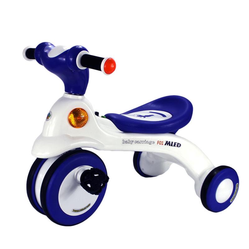 米蓝图儿童三轮车脚踏车大号1-2-3-6周岁男孩女孩宝宝小孩自行车4
