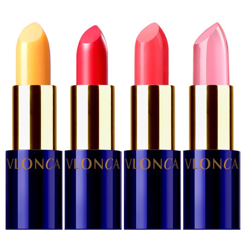 胡萝卜素口红哑光女学生款小样不易脱色唇釉小众品牌变色唇膏正品