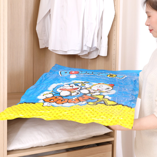 Vacuum compression bag, large clothes bag, bedding, cotton quilt, clothing finishing bag, storage bag, storage artifact