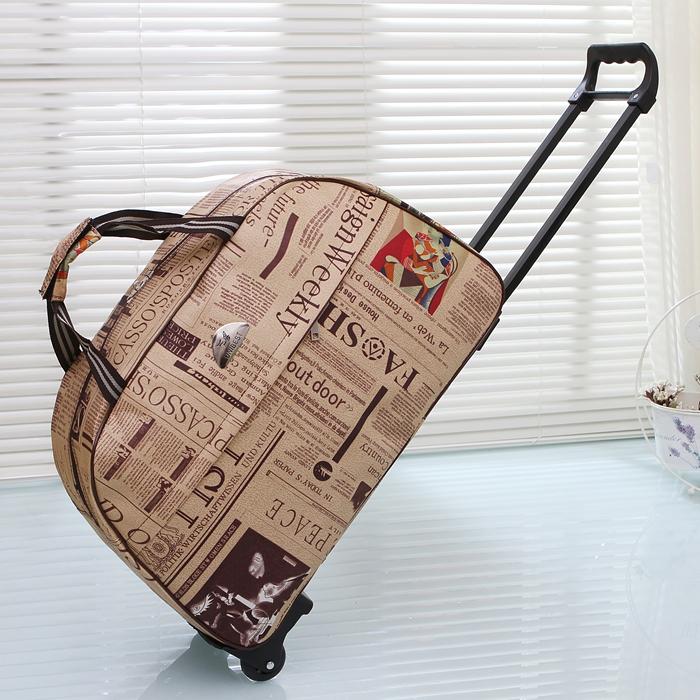 拉杆包短途旅行包女手提登机旅游包男旅行袋大容量行李包