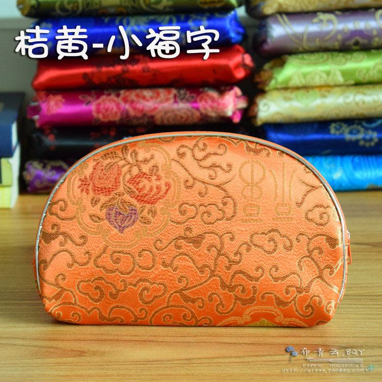 热销5件套母子包 织锦缎钱包 五件套丝绸收纳包 古典多用包