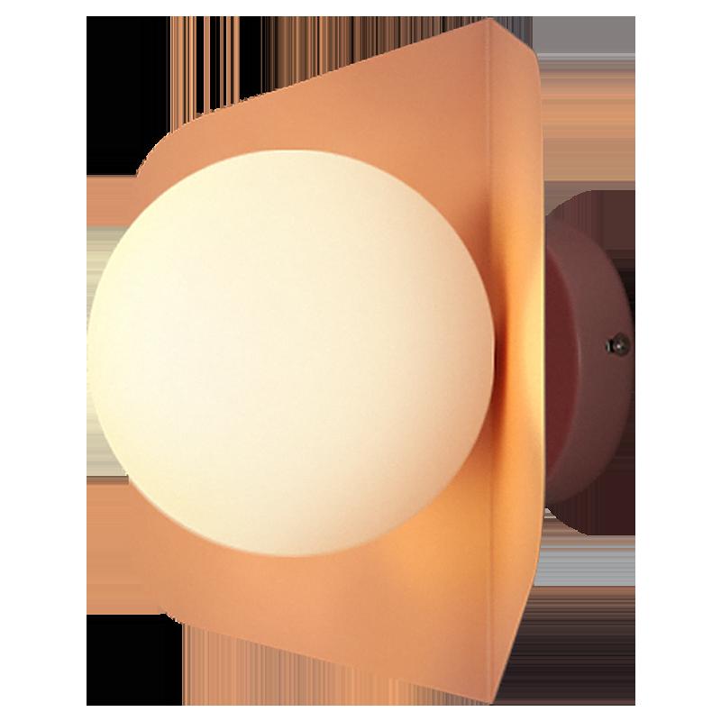 灯北欧创意马卡龙简约现代客厅楼梯过道卧室床头墙壁灯具 设计师