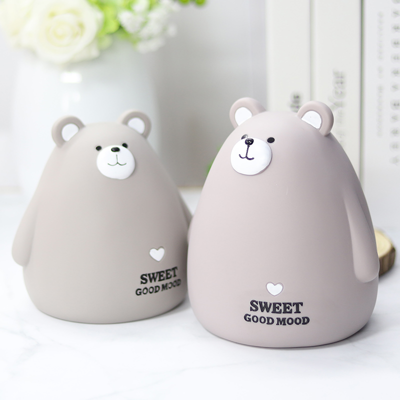 萌兔萌熊存钱罐大容量儿童网红防摔储蓄罐送男孩女孩卡通个姓可爱