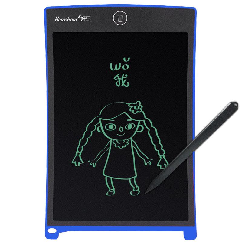 HowShow/好写儿童液晶手写板 lcd屏涂鸦绘画板 光能小黑板草稿本