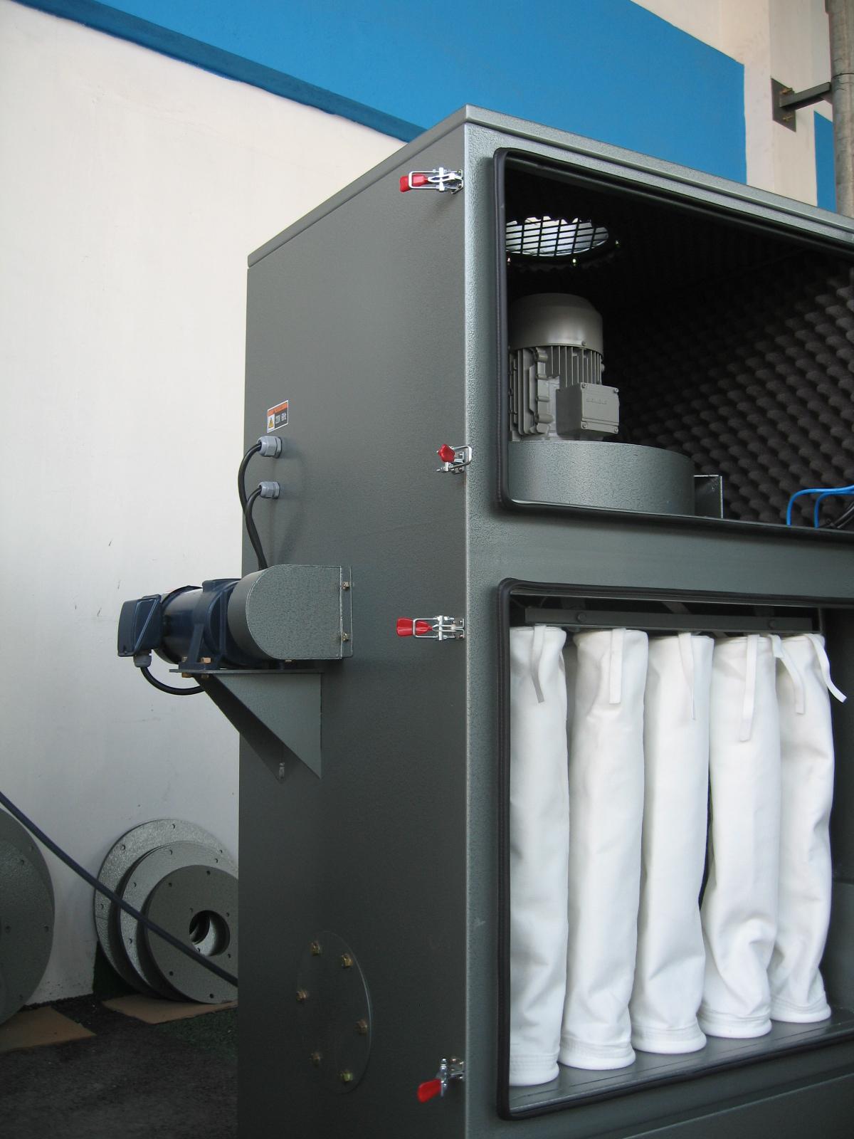 工业布袋除尘器 粉尘过滤器 车间环保设备 空气除尘过滤器 可定制
