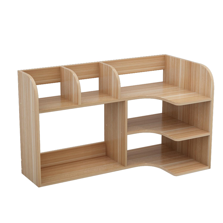 简易书桌上置物架儿童桌面小书架收纳学生家用书柜简约办公省空间