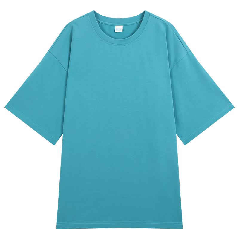 宜搭短袖t恤打底衫女2020新款夏季宽松学生白色ins潮纯色半袖上衣