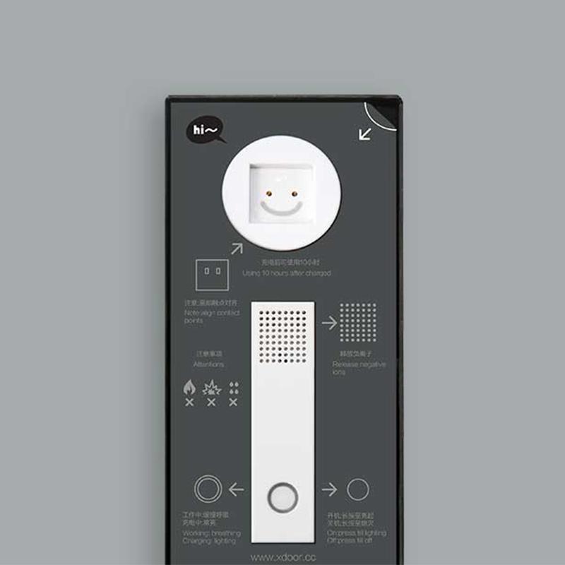 xdoor防雾霾 便携式负离子空气净化器 随身电子口罩除甲醛二手烟