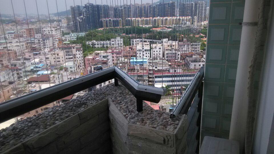 阳台窗户隐形防盗网防护网窗316不锈钢丝深圳广州佛山东莞包安装