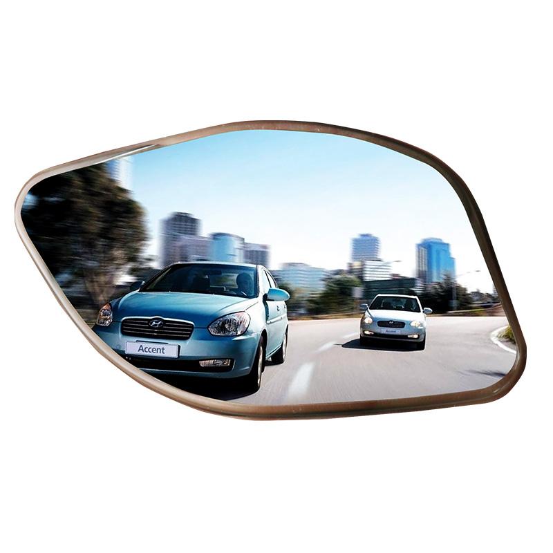 日本快美特盲区辅助镜倒车后视镜小圆镜子360度盲点镜广角辅助镜