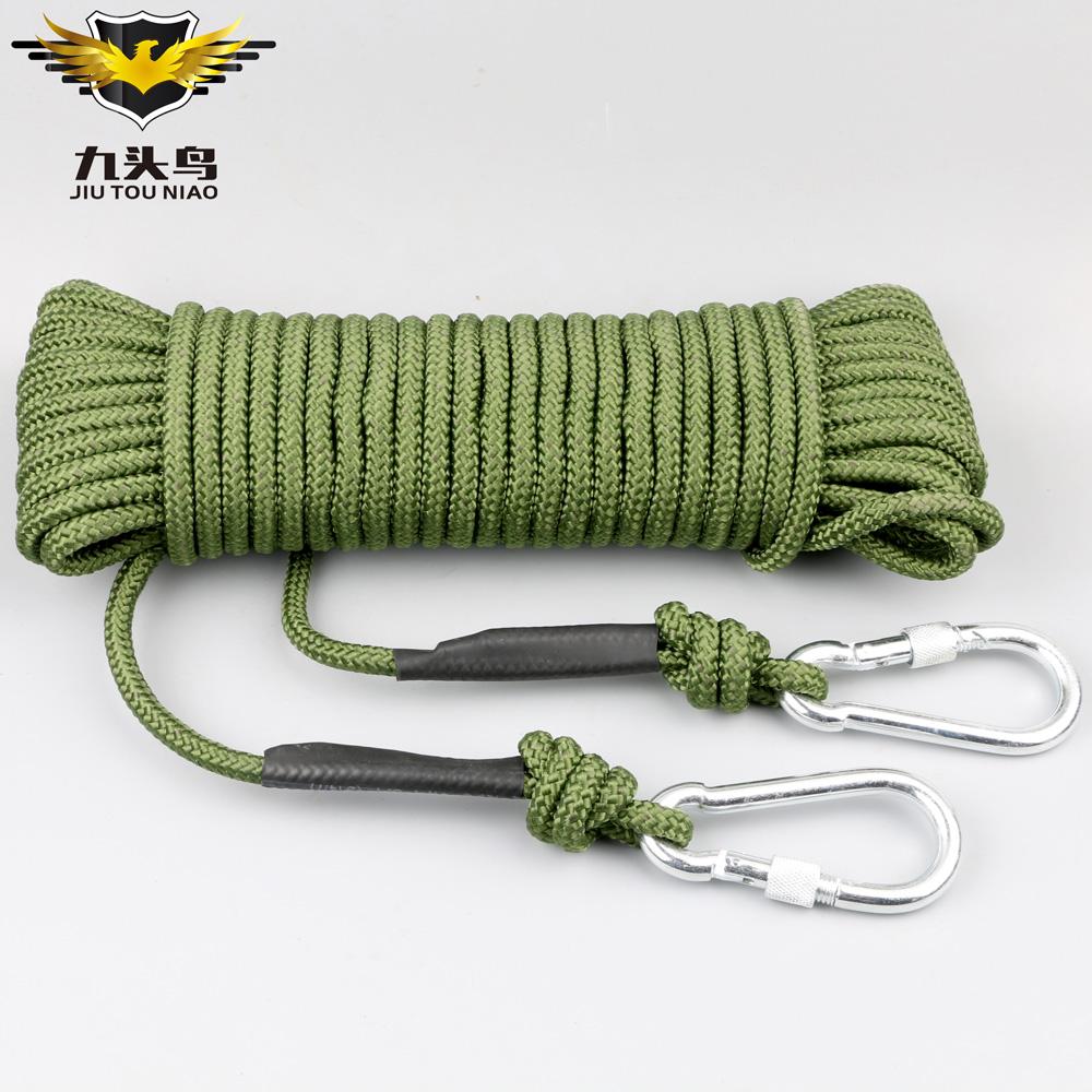 火灾逃生登山绳安全绳攀岩绳救生绳子救援逃生绳索求生装备用品