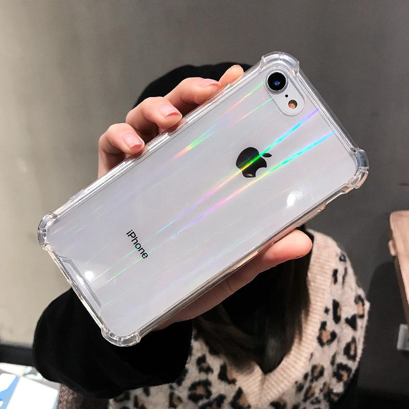 苹果iPhone8手机壳7Plus套8透明6s亚克力6plus硅胶6splus女6男防摔八iPhone7软壳7P超薄i8全包个性创意潮牌8p