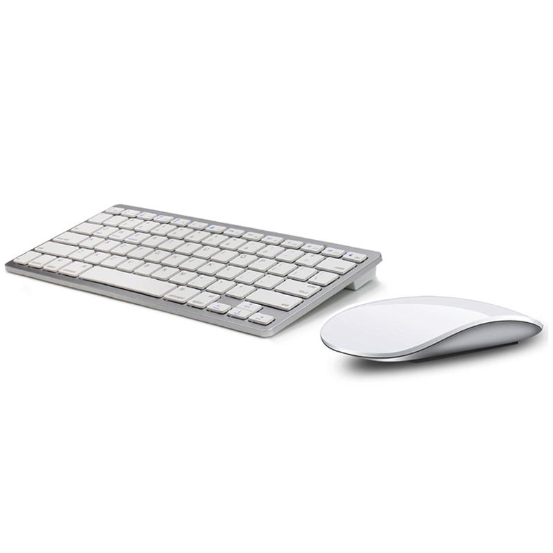 苹果风格轻薄无线蓝牙触摸鼠标键盘套装magic mouse键鼠套装mac