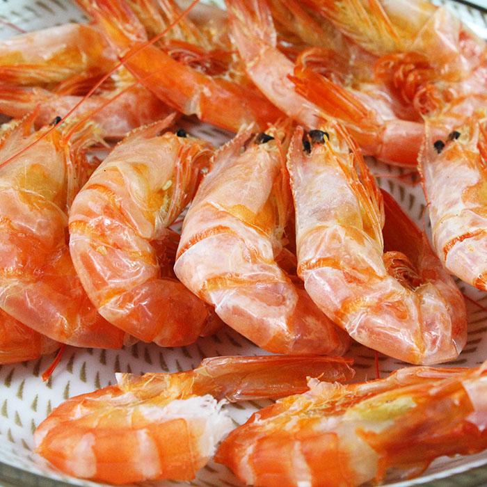 舟山烤虾海虾对虾大小号虾干宁波即食海鲜特产孕妇休闲小零食