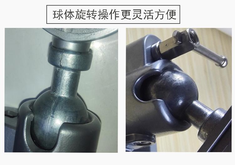特价360度铝合金万向旋转台钳 电钻 电磨机角磨机固定支架 桌虎钳