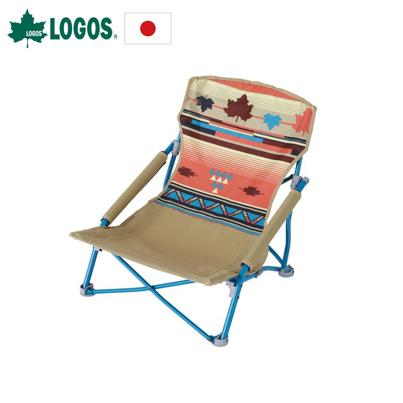 LOGOS放空戶外摺疊椅便攜導演椅寫生椅沙灘椅釣魚椅迷你