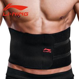 李宁健身护腰带男深蹲硬拉腰带专用束腰收腹训练装备女运动护腰