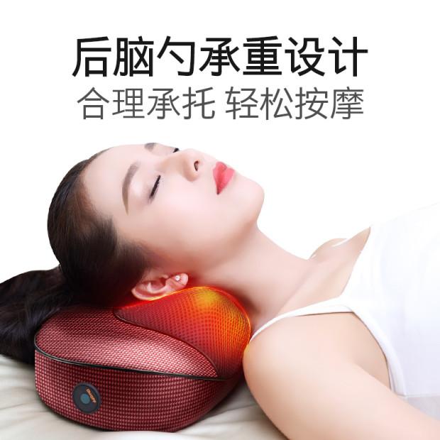 本博肩颈椎按摩器颈部腰部肩部颈肩多功能理疗电动仪脖子枕头家用