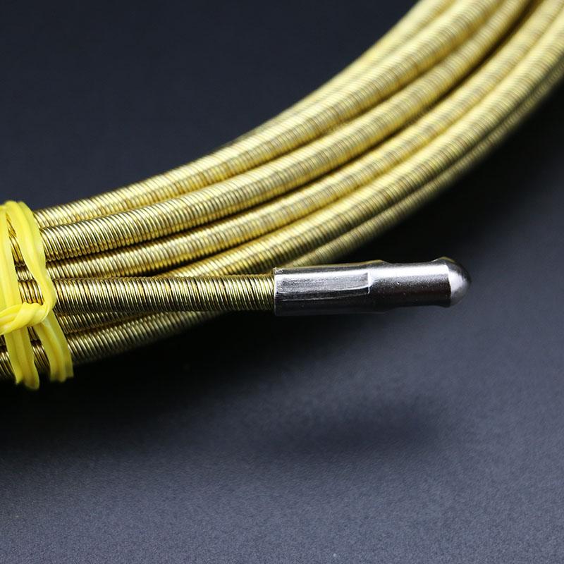 弹簧过直角电工穿线器 进口电线管网线穿管器 光纤线槽引线器