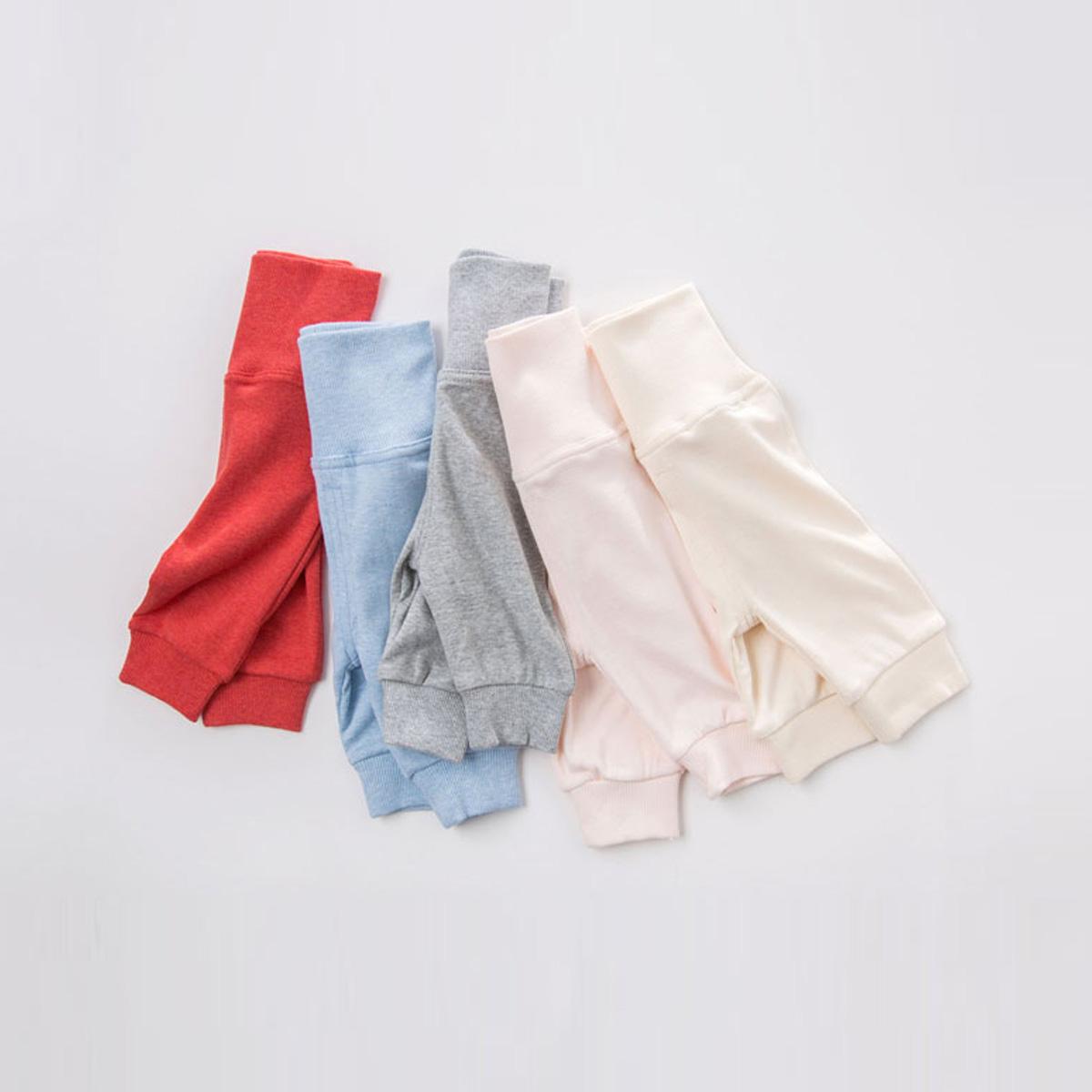 davebella戴维贝拉男女童秋冬季婴儿护肚裤 宝宝高腰护肚裤DB2996
