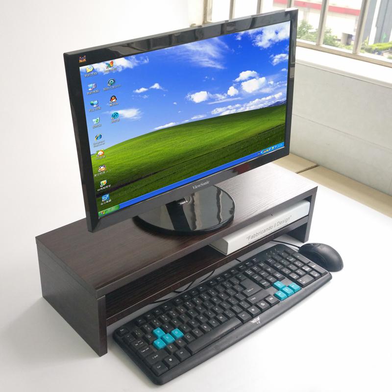 电脑显示器增高架护颈屏幕底座垫高学生办公桌上组合收纳加长加厚