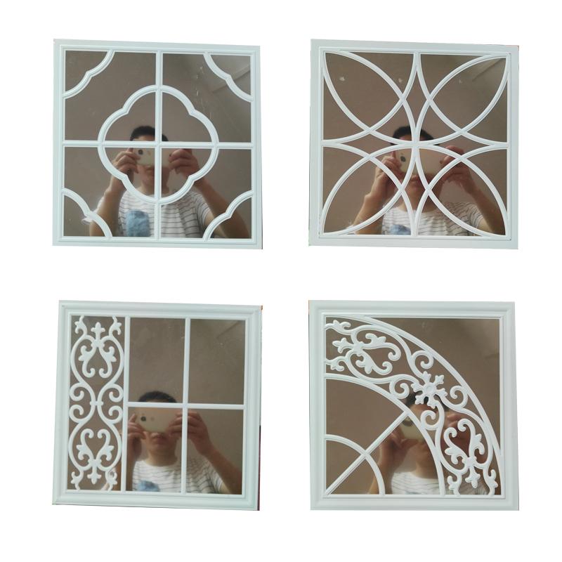 集成吊顶铝扣板30玻璃镜面镜子餐厅客厅卫生间铝合金天花材料包邮