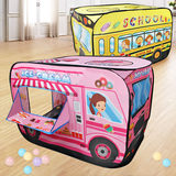 Car tent indoor children's play house small house dollhouse baby boy play house folding ocean ball pool
