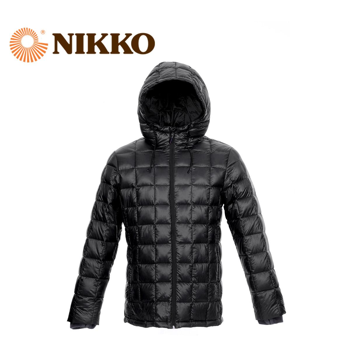 Nikko日高 白鵝絨戶外保暖外套輕便防風男女情侶羽絨服WEB3104006