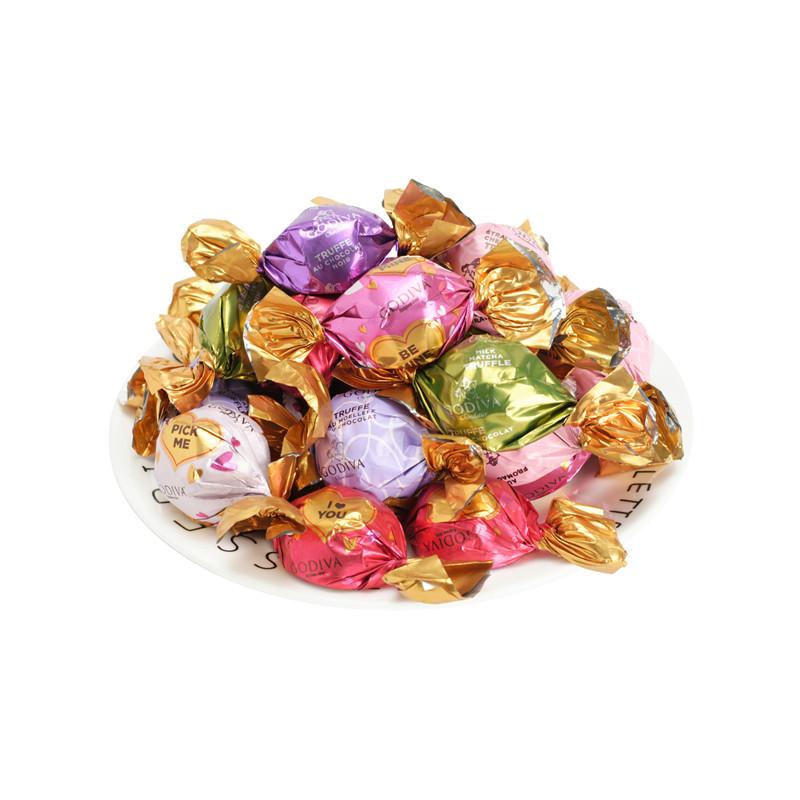 GODIVA高迪瓦牛奶黑巧歌帝梵松露巧克力礼盒散装结婚喜糖婚礼伴手