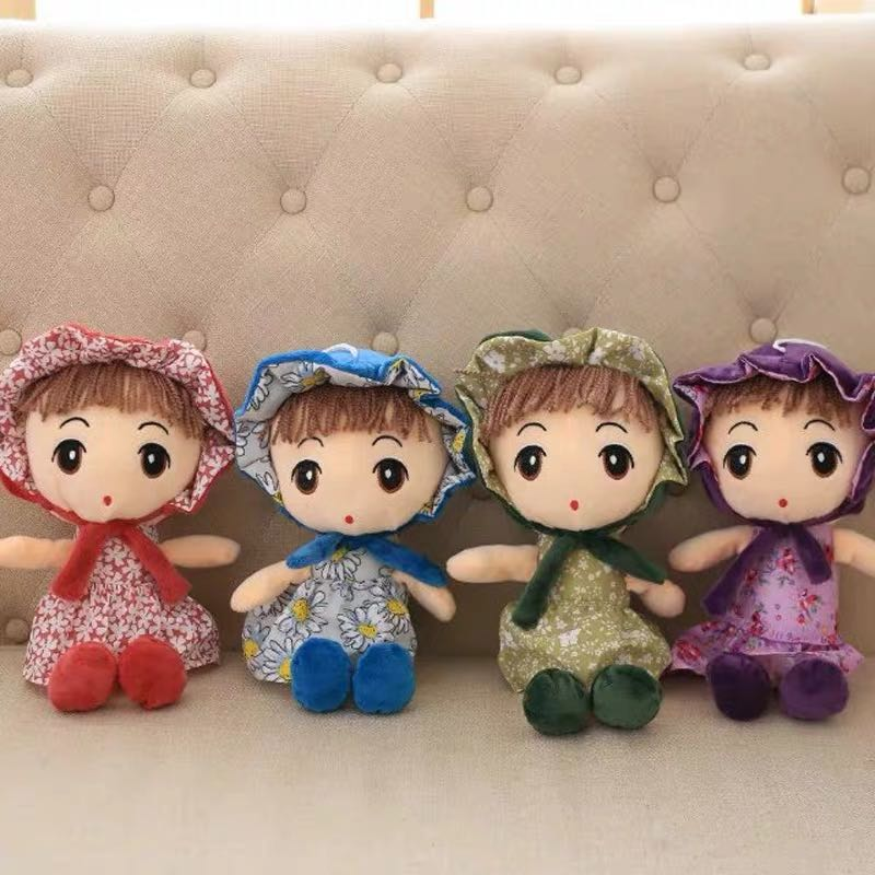 可爱花仙子洋娃娃公仔毛绒玩具儿童玩偶女孩布娃娃玩偶生日礼物女