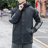 Adidas official website authorized men's sports cotton jacket jacket CY8624