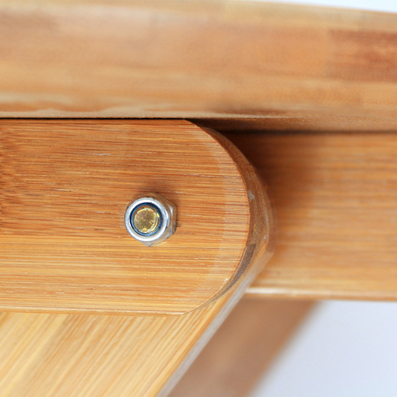 楠竹折疊圓桌陽臺折疊桌家用小桌子餐桌飯桌書桌圓形桌便攜實木桌