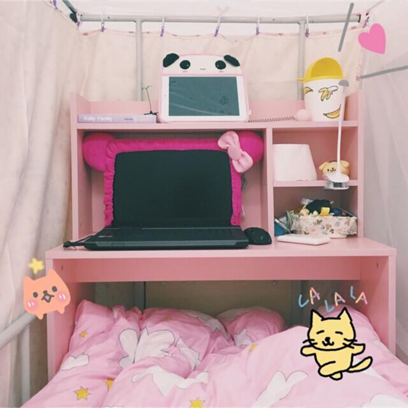 大學生宿舍床上電腦桌膝上型電腦寢室桌上下鋪懶人書桌寫字桌子
