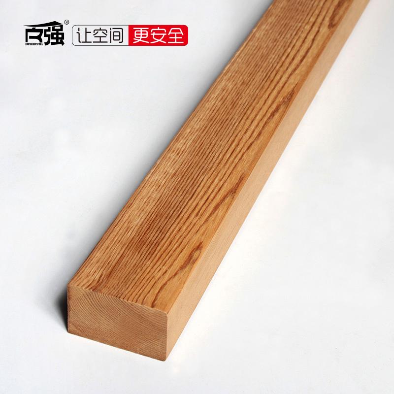 百强 防腐木地板 樟子松深度碳化木户外地板材庭院木材木方45*28