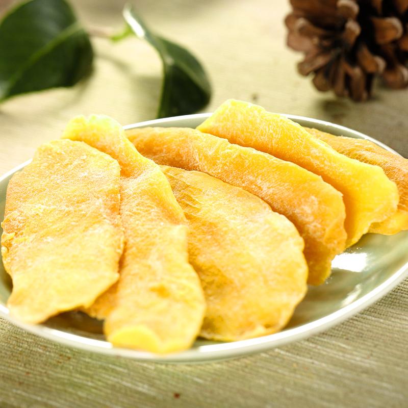 芒果片蜜饯果脯果干类混合装零食 华味亨芒果干袋装 18.9 三袋