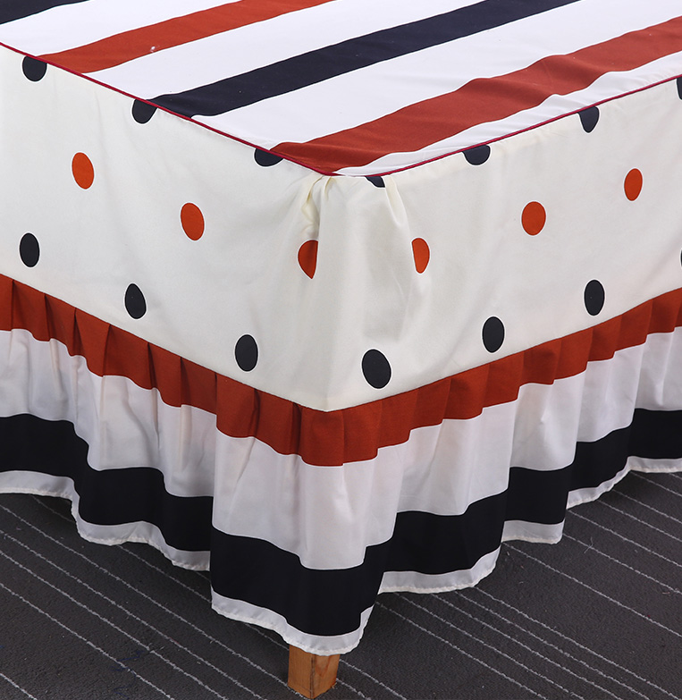 卡沃席梦思床罩床裙床套单件韩式公主床盖床单床笠1.8/1.5/2.0米