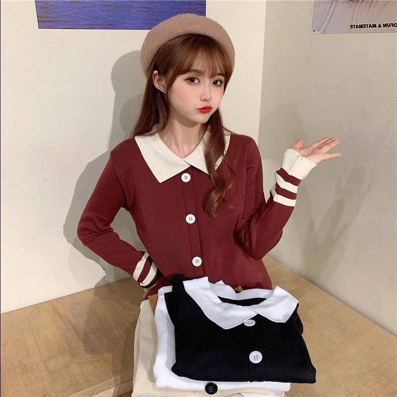 长袖打底毛衣韩版外搭学生上衣