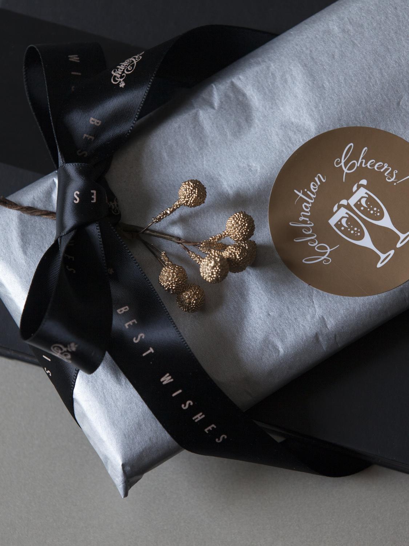 案头手礼礼品纸黑色雪梨纸轻薄软纸礼物纸包装纸北欧纯色高档商务