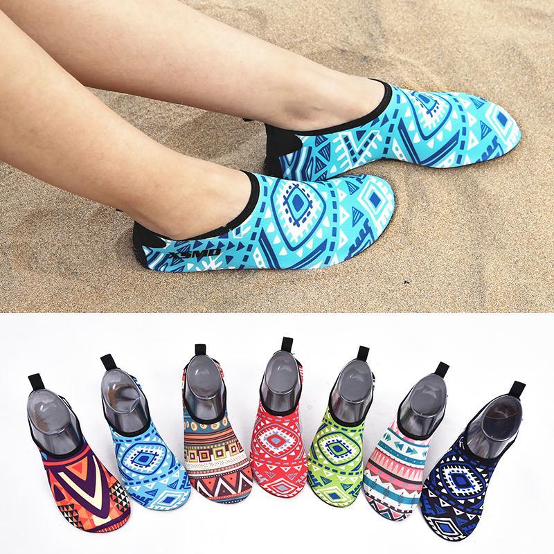 民族风沙滩鞋男女通用大人浮潜鞋袜防滑软底夏游泳潜水瑜伽贴肤