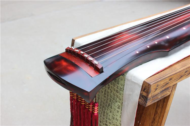 桐木古琴纯手工初学入门演奏专业伏羲式仲尼式古琴自学送全套配件