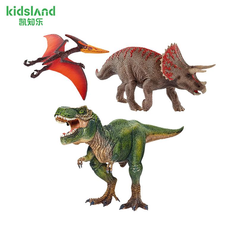 Schleich思乐恐龙玩具仿真动物模型摆件雷克斯暴龙霸王龙男孩收藏