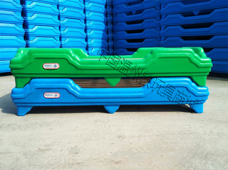 大风车幼儿园专用床小孩早教幼稚午睡床儿童午休叠放床儿童滚塑床